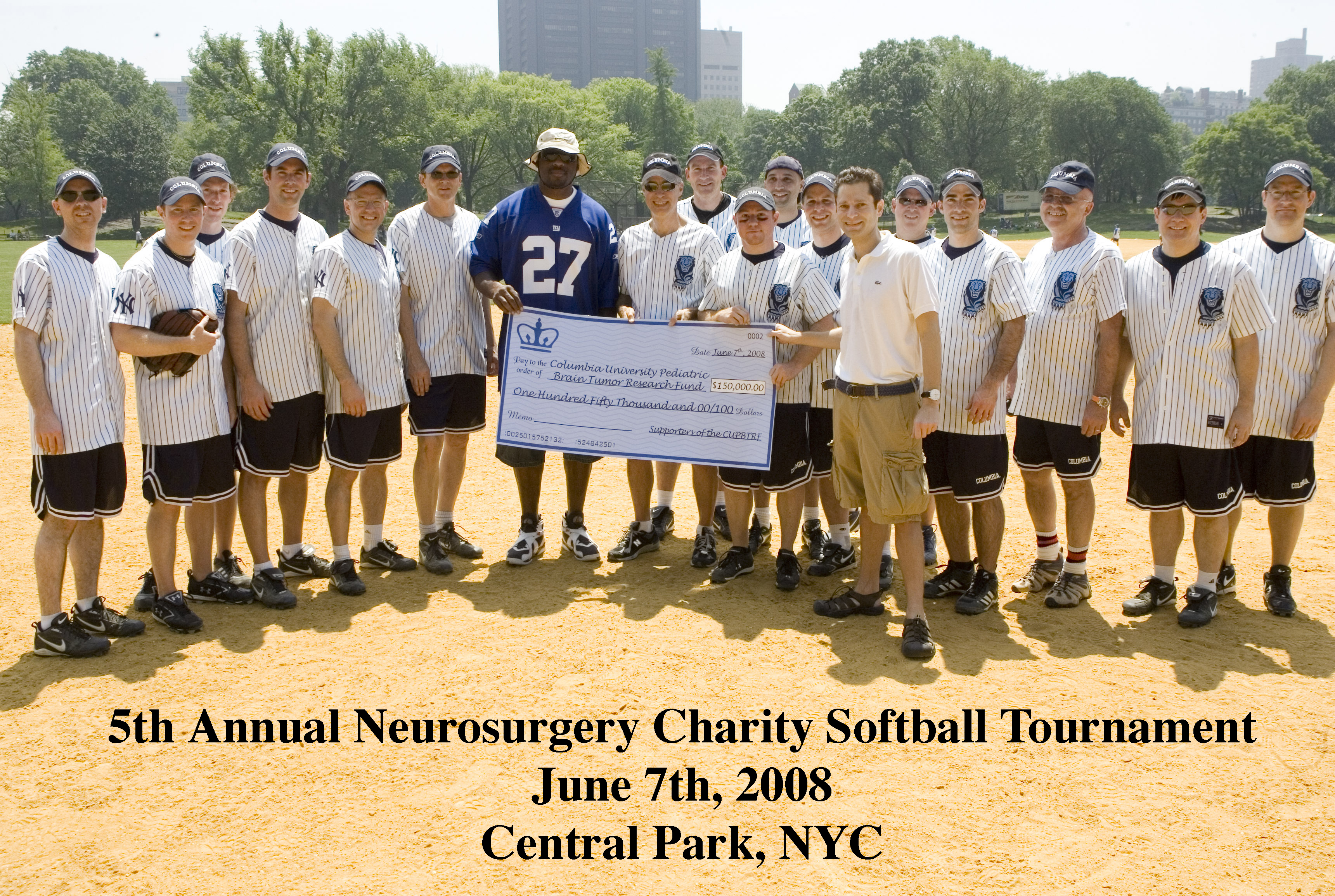 ANNUAL NEUROSURGERY CHARITY SOFTBALL TOURNAMENT